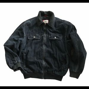 Levi's Corduroy Bomber Jacket with Quilted Lining